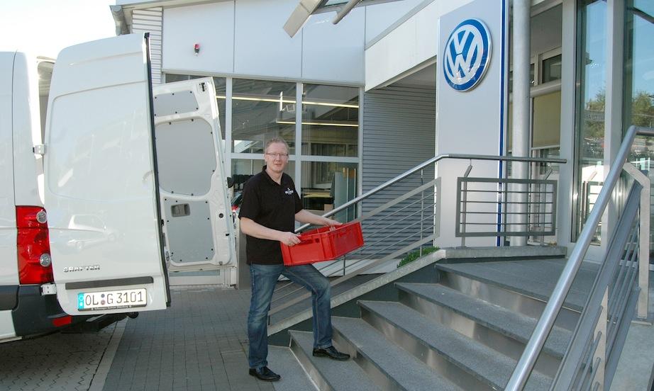Abel & Gerdes Catering Referenzen: Marco Gerdes beim Volkswagen Zentrum Oldenburg